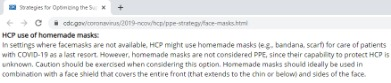 cdc mask recommendation